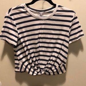 Splendid twist front t-shirt NWT